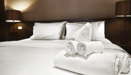 Wasserbett im Hotel