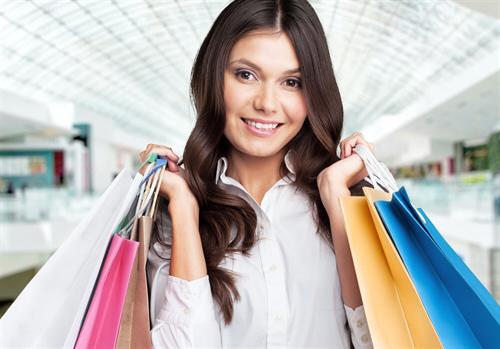 Shopping bis spät abends
