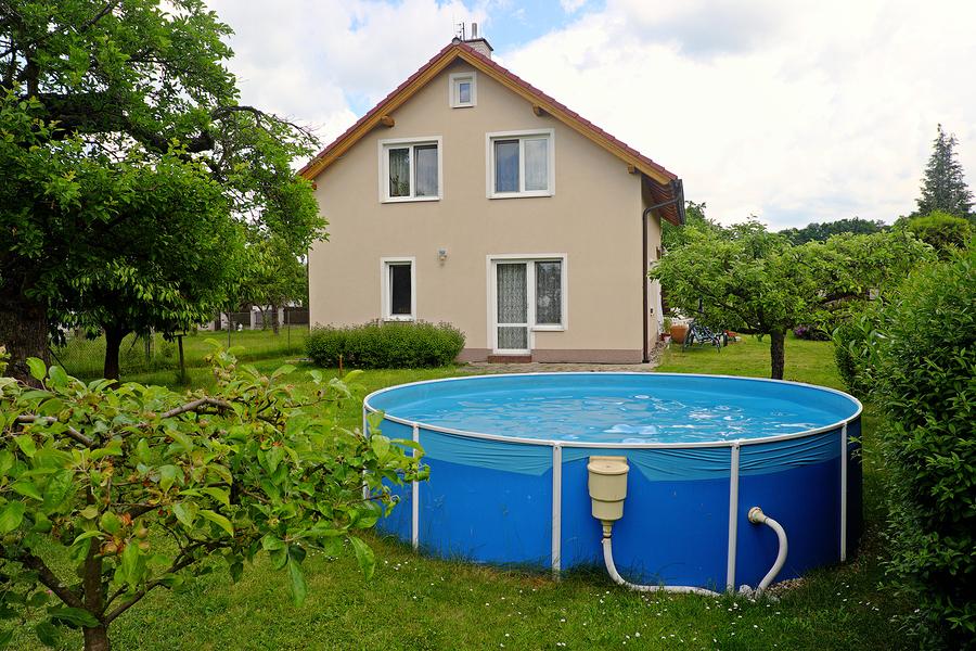 Sandfilteranlage Pool
