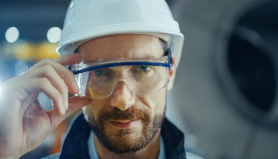 Augenschutzbrille Arbeitsschutz